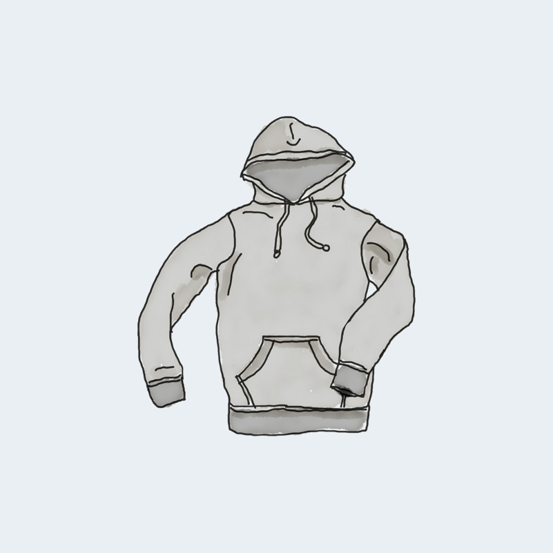 hoodie with pocket 1 - Hoodie with Pocket