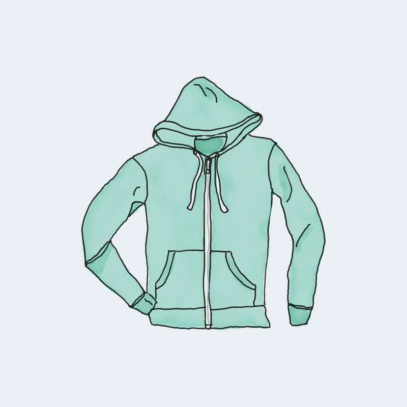 hoodie with zipper 1 - Hoodie with Zipper